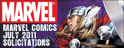 Marvel Comics Solicitations - On Sale Jul 2011