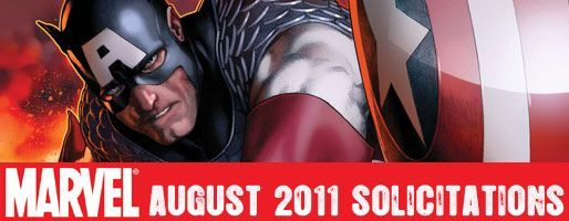 Marvel Comics Solicitations - On Sale Aug 2011