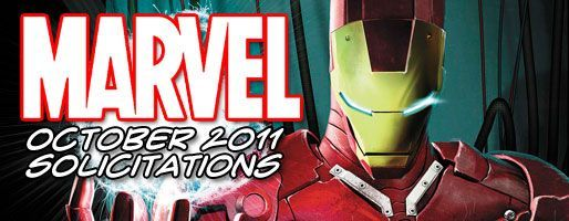 Marvel Comics Solicitations - On Sale Oct 2011
