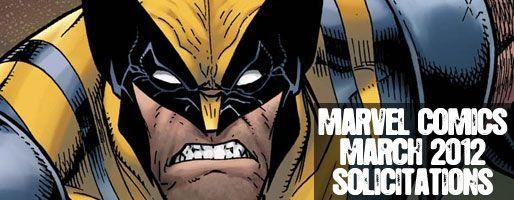 Marvel Comics Solicitations - On Sale Mar 2012
