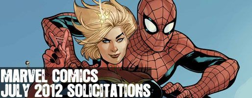 Marvel Comics Solicitations - On Sale Jul 2012