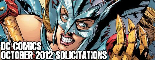 DC Comics Solicitations - On Sale Oct 2012