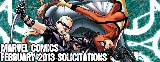 Marvel Comics Solicitations - On Sale Feb 2013