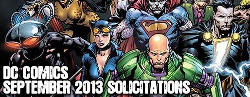DC Comics Solicitations - On Sale Sep 2013