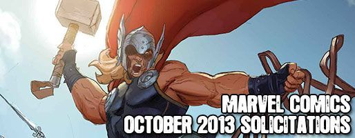 Marvel Comics Solicitations - On Sale Oct 2013