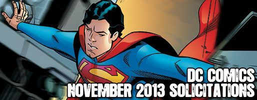 DC Comics Solicitations - On Sale Nov 2013