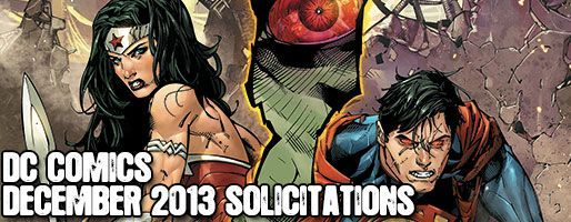 DC Comics Solicitations - On Sale Dec 2013