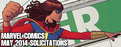 Marvel Comics Solicitations - On Sale May 2014