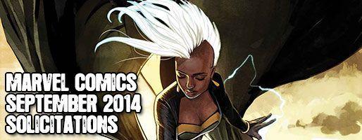 Marvel Comics Solicitations - On Sale Sep 2014