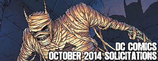 DC Comics Solicitations - On Sale Oct 2014