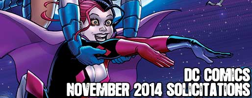 DC Comics Solicitations - On Sale Nov 2014