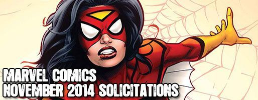 Marvel Comics Solicitations - On Sale Nov 2014