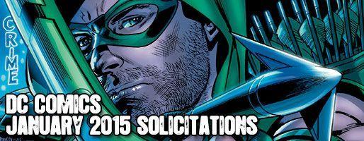 DC Comics Solicitations - On Sale Jan 2015