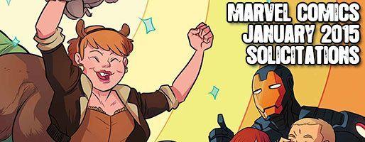 Marvel Comics Solicitations - On Sale Jan 2015