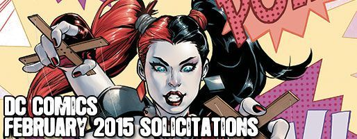 DC Comics Solicitations - On Sale Feb 2015
