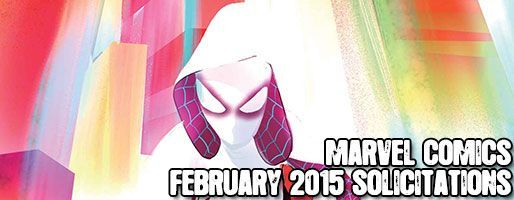 Marvel Comics Solicitations - On Sale Feb 2015