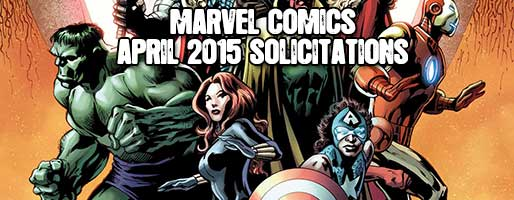 Marvel Comics Solicitations - On Sale Apr 2015