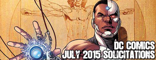 DC Comics Solicitations - On Sale Jul 2015