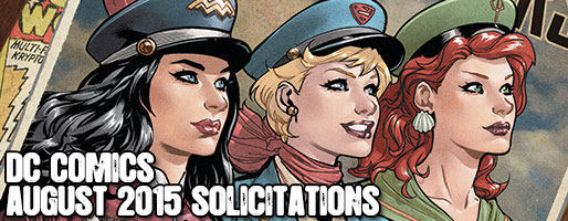 DC Comics Solicitations - On Sale Aug 2015