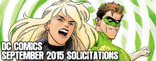 DC Comics Solicitations - On Sale Sep 2015
