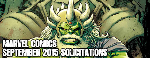 Marvel Comics Solicitations - On Sale Sep 2015