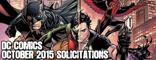 DC Comics Solicitations - On Sale Oct 2015
