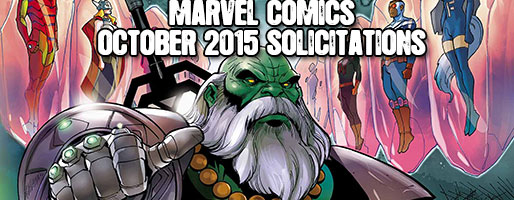 Marvel Comics Solicitations - On Sale Oct 2015