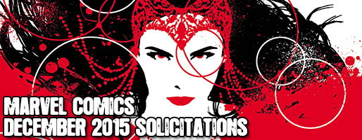 Marvel Comics Solicitations - On Sale Dec 2015