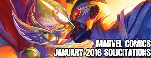Marvel Comics Solicitations - On Sale Jan 2016