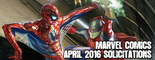Marvel Comics Solicitations - On Sale Apr 2016