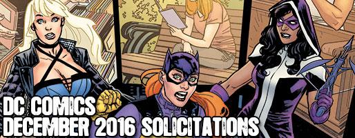 DC Comics Solicitations - On Sale Dec 2016