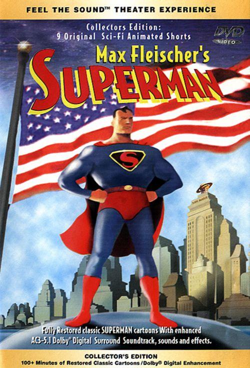 max fleischers superman superman  lost episodes