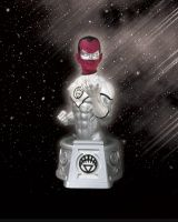 HEROES OF THE DC UNIVERSE: BLACKEST NIGHT: WHITE LANTERN SINESTRO BUST