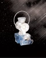 BLACKEST NIGHT: WHITE LANTERN 1:4 SCALE POWER BATTERY AND RING PROP REPLICA SET