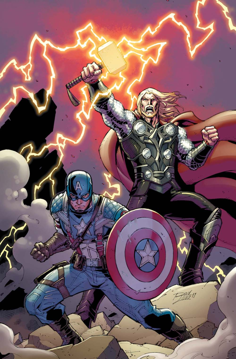 CAP AND THOR! AVENGERS