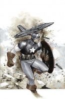CAPTAIN AMERICA #1 (Variant Cover by OLIVIER COIPEL)