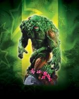 HEROES OF THE DC UNIVERSE SERIES 2: SWAMP THING BUST