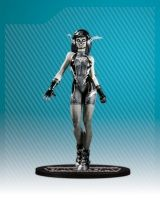 AME-COMI HEROINE SERIES: BLACK FLASH PVC FIGURE