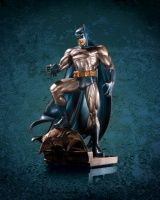 BATMAN (PATINA) MINI STATUE