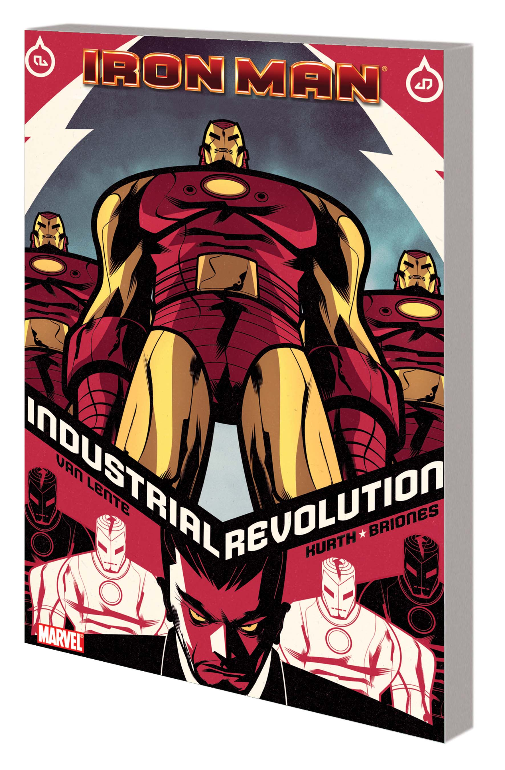IRON MAN: INDUSTRIAL  REVOLUTION TPB