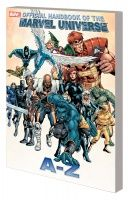 OFFICIAL HANDBOOK OF THE MARVEL UNIVERSE A TO Z VOL. 1 TPB