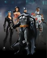 DC UNIVERSE ONLINE SERIES 1 ACTION FIGURES