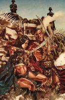 JOHN CARTEr: WORLD OF MARS #3 (OF 4)