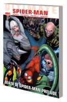 ULTIMATE COMICS SPIDER-MAN VOL. 3: DEATH OF SPIDER-MAN PRELUDE TPB KOMARCK COVER