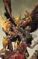 THE SAVAGE HAWKMAN #5