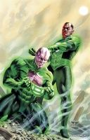 FLASHPOINT: THE WORLD OF FLASHPOINT FEATURING GREEN LANTERN TP