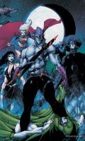 JUSTICE LEAGUE OF AMERICA: THE RISE OF ECLIPSO HC
