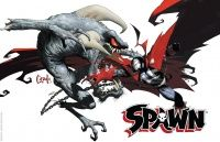 SPAWN 20th ANNIVERSARY POSTER #1 (of 4)