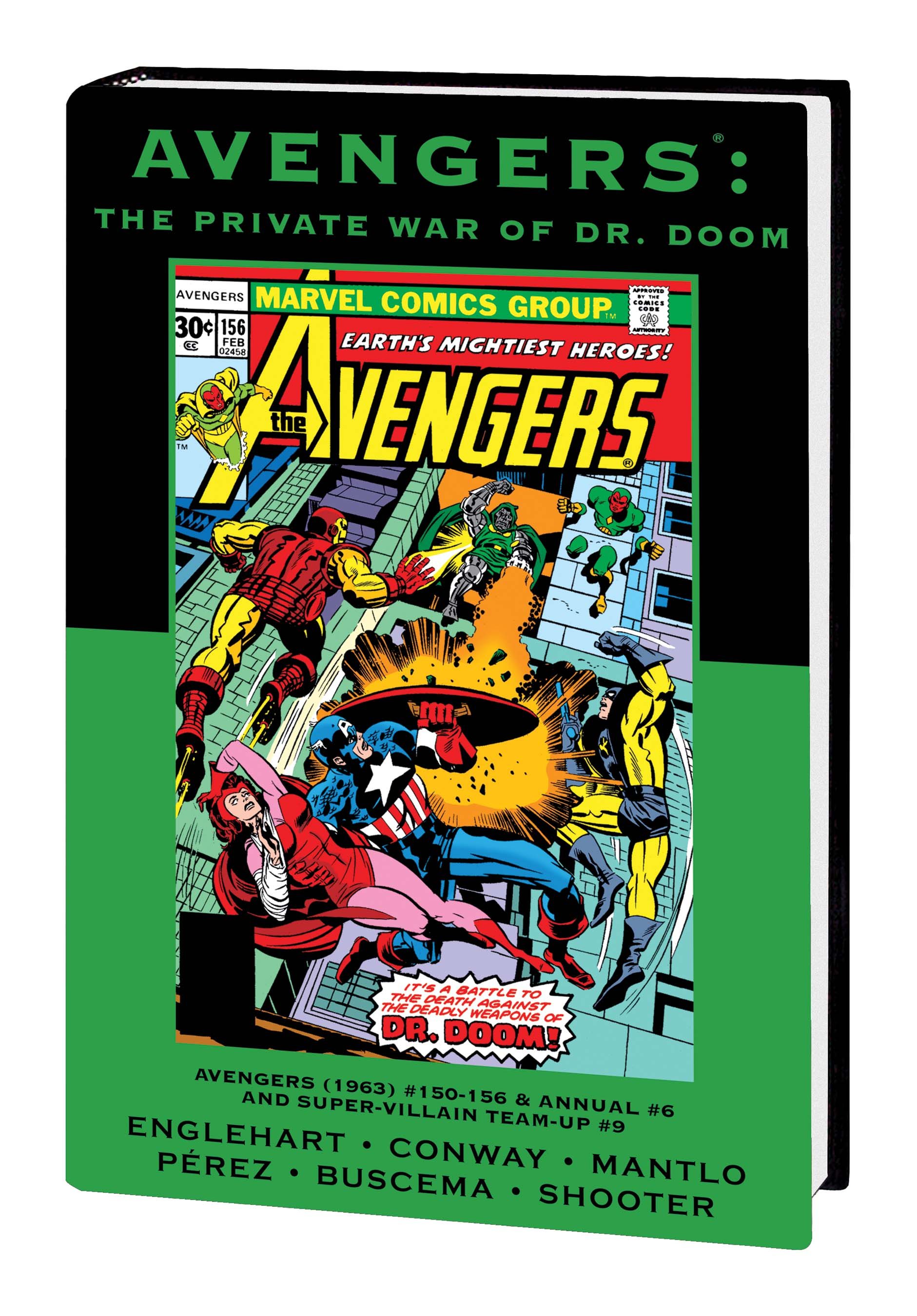 AVENGERS: THE PRIVATE WAR OF DR. DOOM PREMIERE HC - VARIANT EDITION VOL. 89 (DM ONLY)