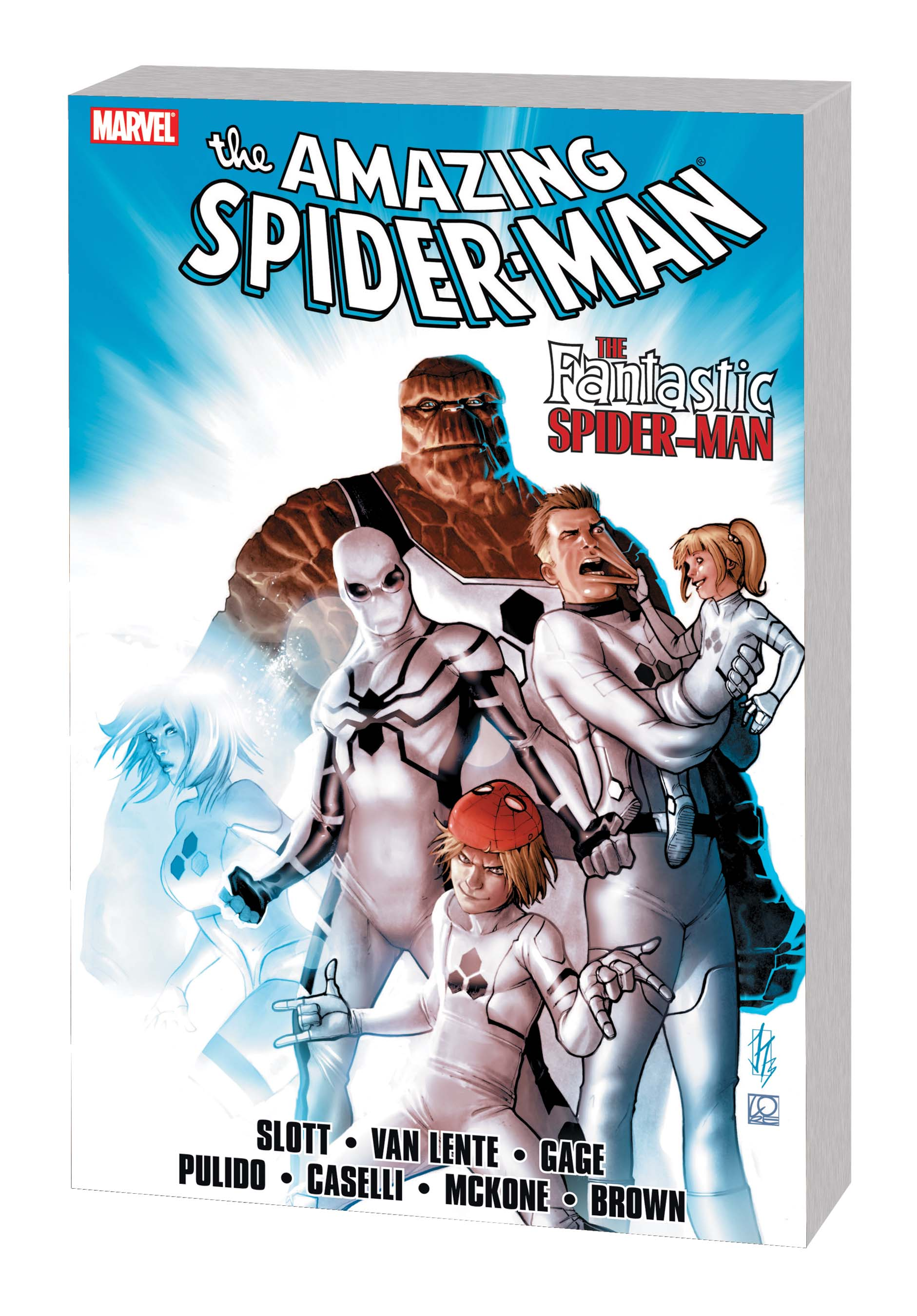 SPIDER-MAN: THE FANTASTIC SPIDER-MAN TPB
